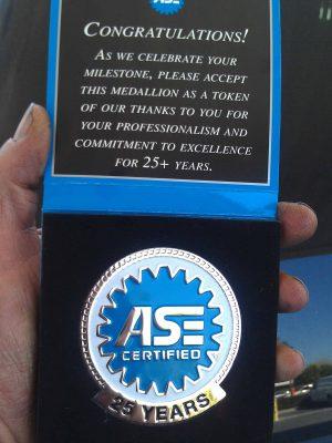 Robert Grove - ASE Certified 25+