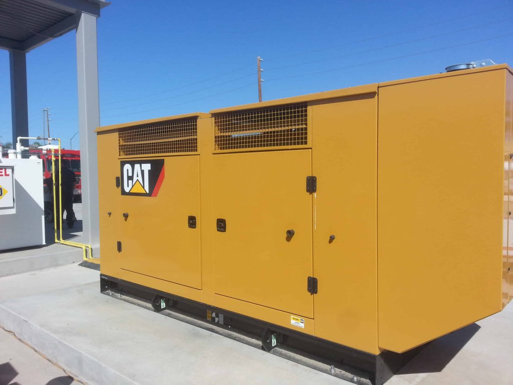 Stationary Caterpillar Backup Generator Mobile Mechanic