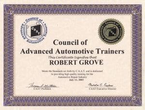 CAAT-Advanced Automotive Trainers-Mobile Mechanic