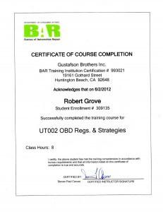 Mobile Mechanic Certification