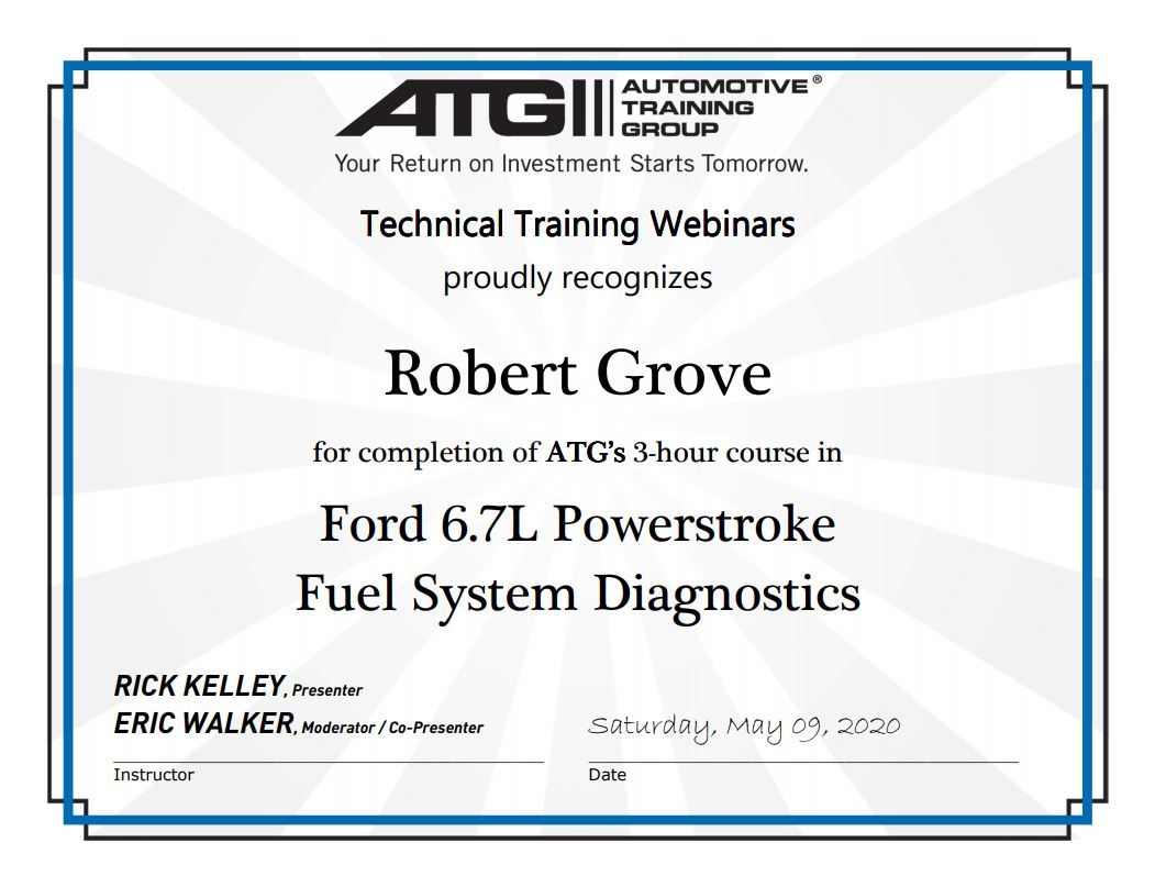 Ford 6.7L Powerstroke Fuel System Diagnostics