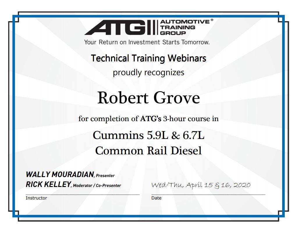 Cummins 5.9L & 6.7L Common Rail Diesel